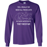 They Need Me LS Ultra Cotton T-Shirt