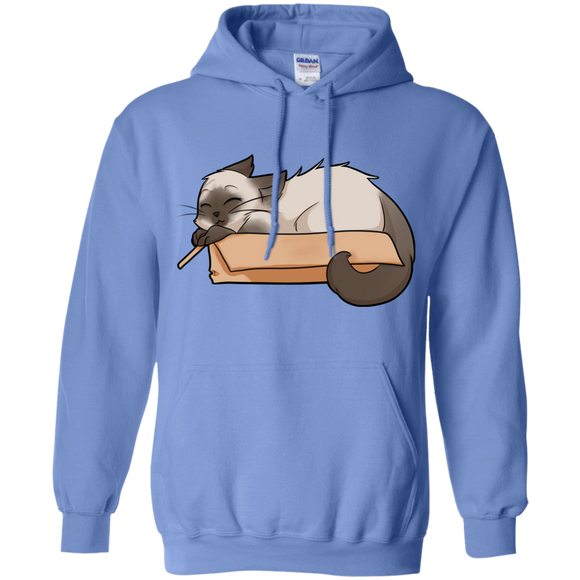 Box Cat Pullover Hoodie