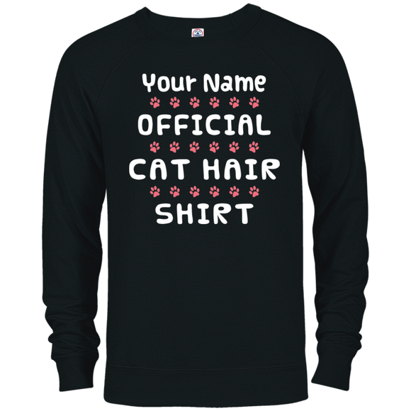 Official Cat Hair Shirt - Personalized Unisex Hoodies and Sweatshirts
