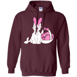 Easter Kitty Pullover Hoodie