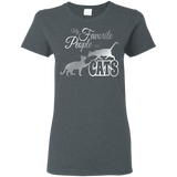 My Favorite People are Cats Ladies T-Shirt