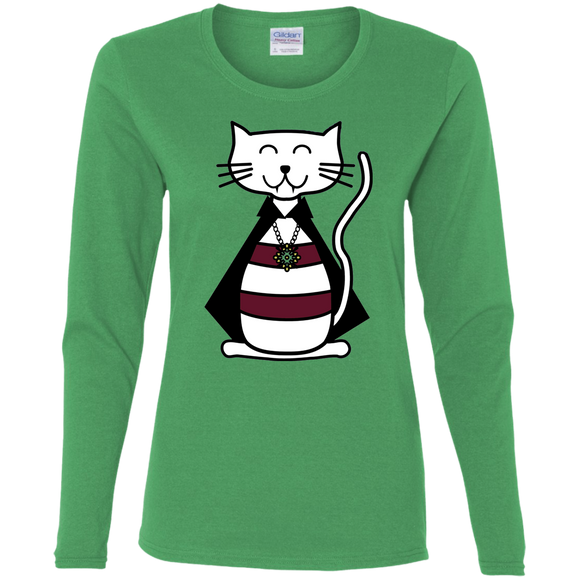 Catula Ladies Long Sleeve T-shirts