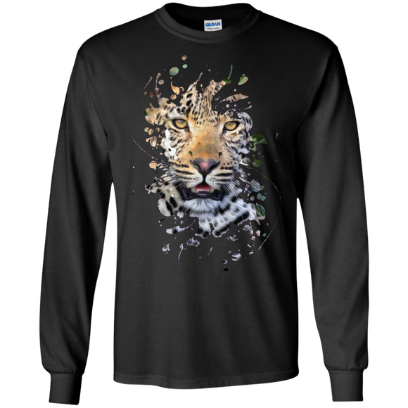 Disappearing Leopard LS Ultra Cotton T-Shirt