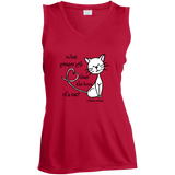 Dickens Cat Ladies Sleeveless Moisture Absorbing V-Neck