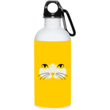 Cat Face 20 oz. Stainless Steel Water Bottle