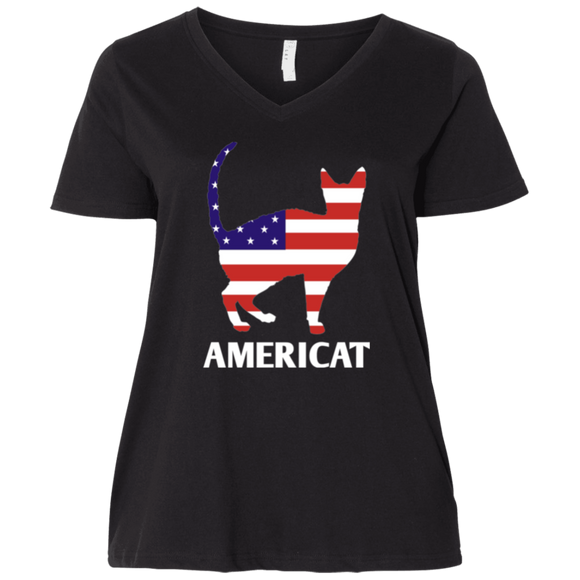 Americat Ladies Curvy T-Shirts