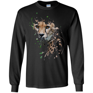 Disappearing Cheetah LS Ultra Cotton T-Shirt