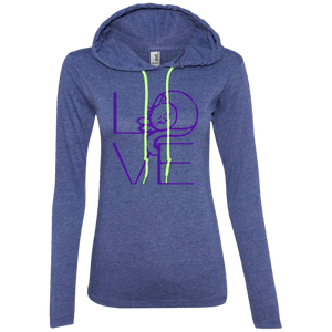 LOVE Cat Ladies LS T-Shirt Hoodie