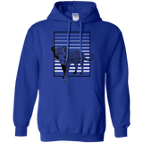 Black Panther Stripes Pullover Hoodie