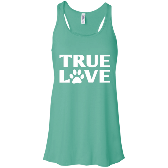 TRUE LOVE Flowy Racerback Tank