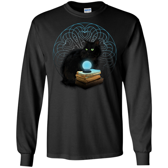 Midnight Magic LS Ultra Cotton T-Shirt