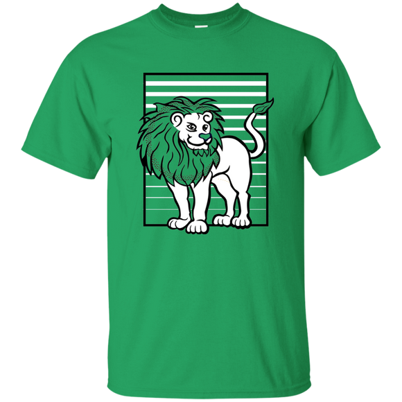 Lion Stripes Youth Ultra Cotton T-Shirt