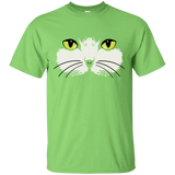 Gold Eyed Cat Face Ultra Cotton T-Shirt