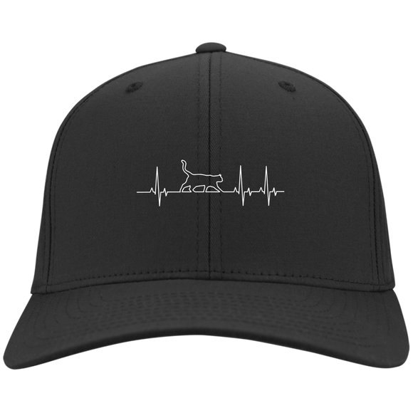 Walking Cat Heartbeat Hats
