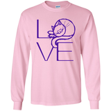 LOVE Cat LS Ultra Cotton T-Shirt