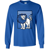 Lion Stripes Youth LS T-Shirt