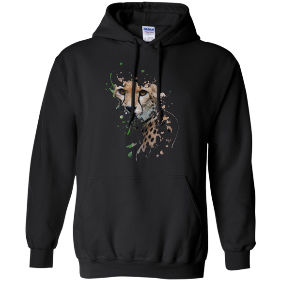 Disappearing Cheetah Pullover Hoodie