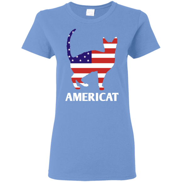 Americat Ladies Cotton T-Shirt