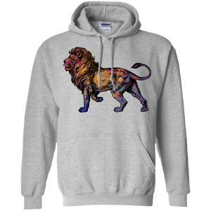 Colorful Lion Pullover Hoodie