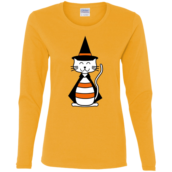Witch Cat Ladies Long Sleeve T-shirts