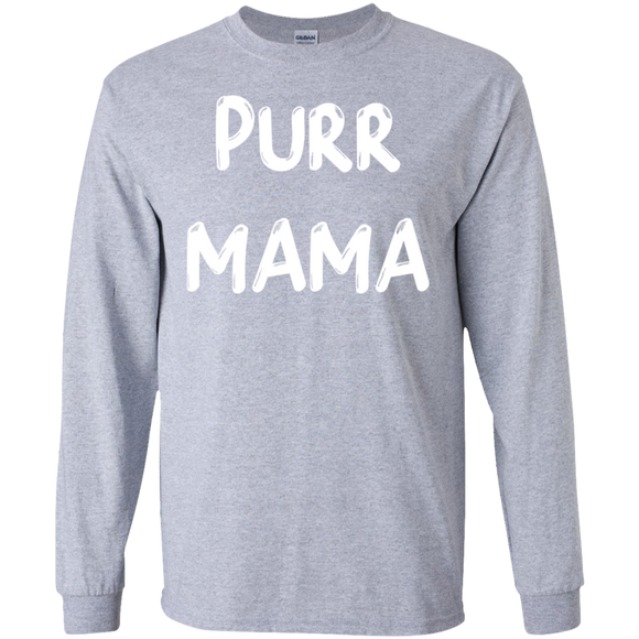 Purr Mama LS Ultra Cotton T-Shirt
