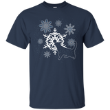 Cat and Snowflakes Ultra Cotton T-Shirt