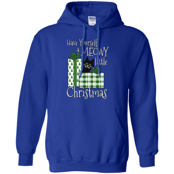 Meowy Little Christmas Pullover Hoodie