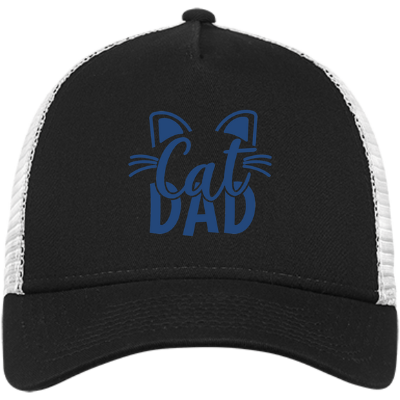 Cat Dad Snapback Trucker Cap