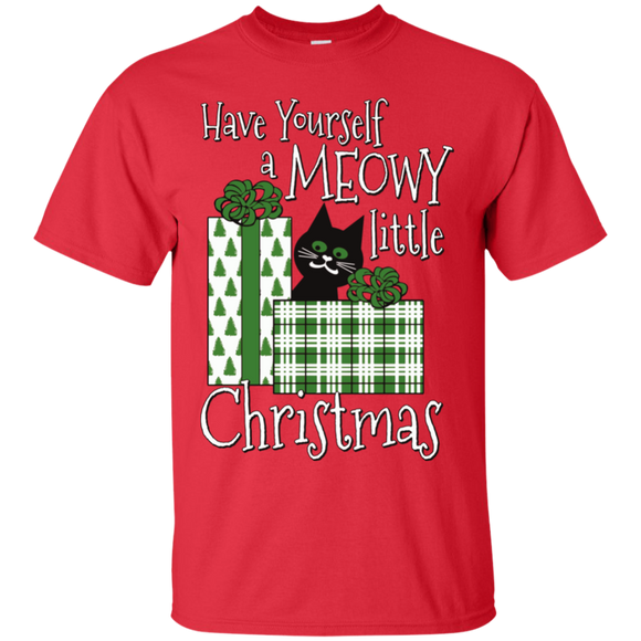 Meowy Little Christmas Ultra Cotton T-Shirt