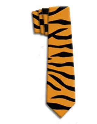 Tiger Stripe Neck Tie