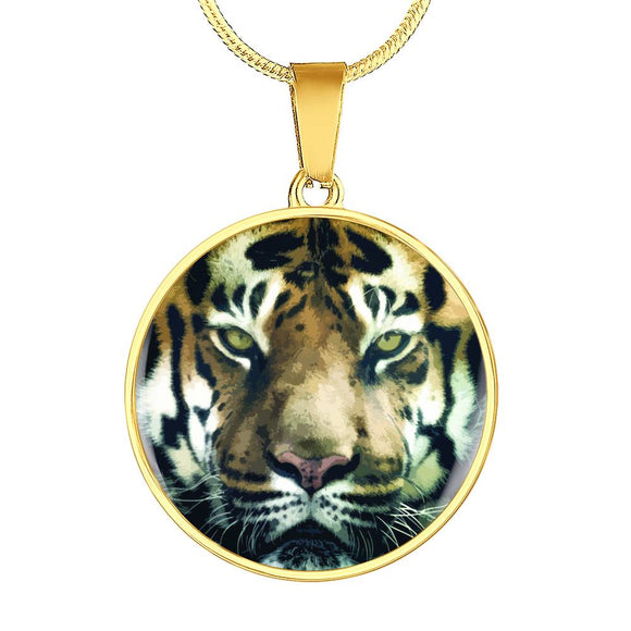 Tiger Face Luxury Necklace or Bangle