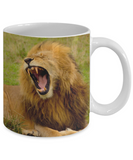 I Need My Coffee - Lion Mug (11oz) - Raven's World - 2