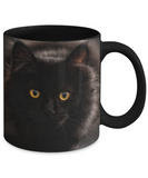 I Heart Black Cats Mug (black) 11 oz - Raven's World - 2