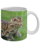 Kitten Gang Mug (white) (11 oz) - Raven's World - 2