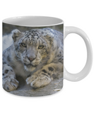 I Heart Snow Leopards - 11 or 15 oz Mugs