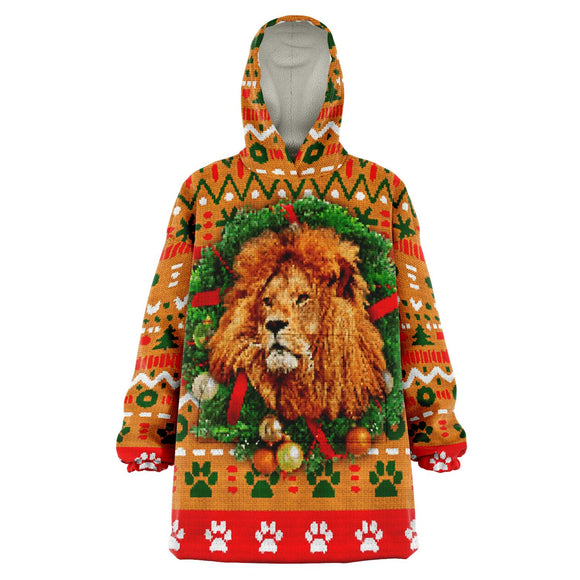 King of the Jungle - Christmas Snug Hoodie