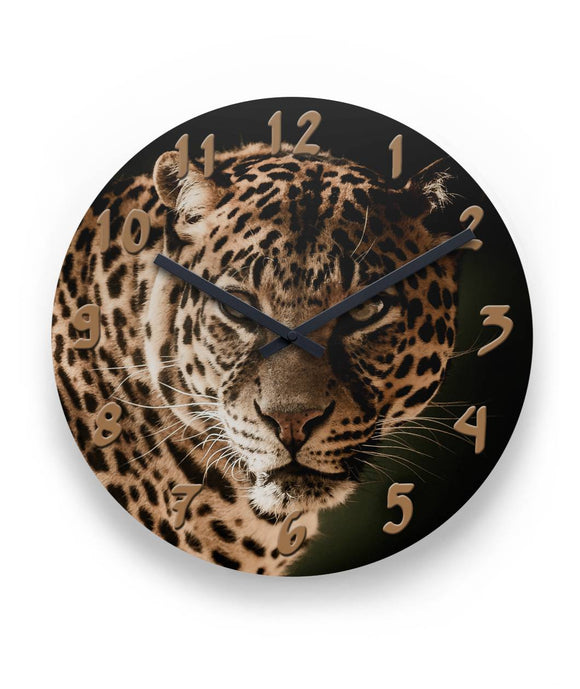 Leopard Wall Clock 11