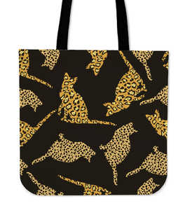 Spots Cat Cloth Tote Bag