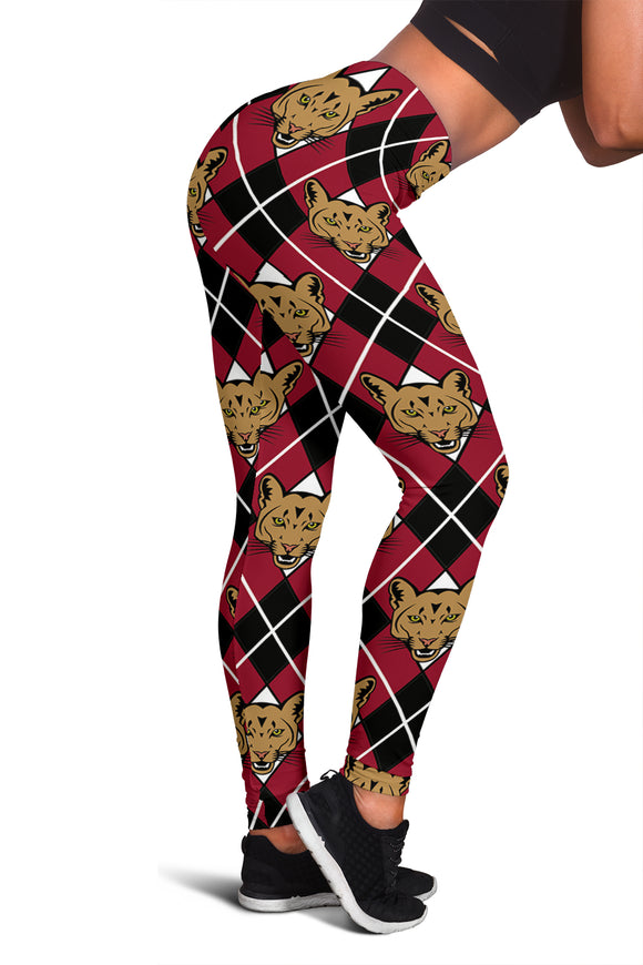 Cougar Argyle Leggings