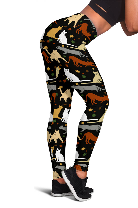 Fall Cat Herd Leggings