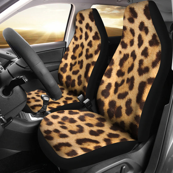 Leopard Fur Print - Car Seat Covers