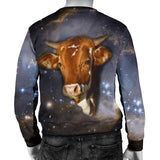 Galaxy Cow Mens Sweater