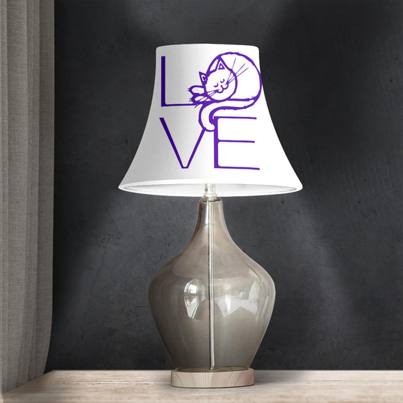 LOVE Cat - Bell Lampshade
