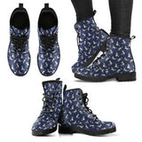 Cat Pattern Womens Handcrafted Boots