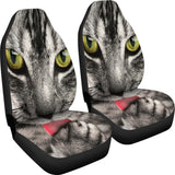 Cat with Tongue Car Seat Covers with Express Shipping