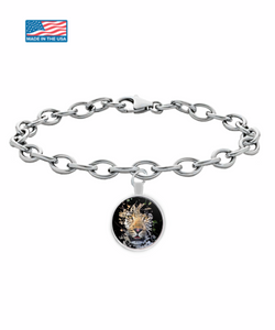 Disappearing Leopard Bracelet (silver plated) - Raven's World