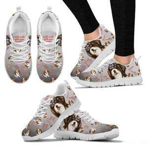 Shih Tzu Lovers Womens Sneakers
