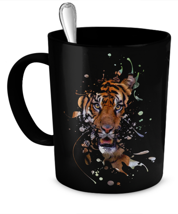 Disappearing Tiger Mug (11oz) - Raven's World - 1
