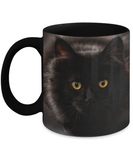 I Heart Black Cats Mug (black) 11 oz - Raven's World - 1