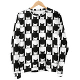 Black and White Cats Men's Sweater